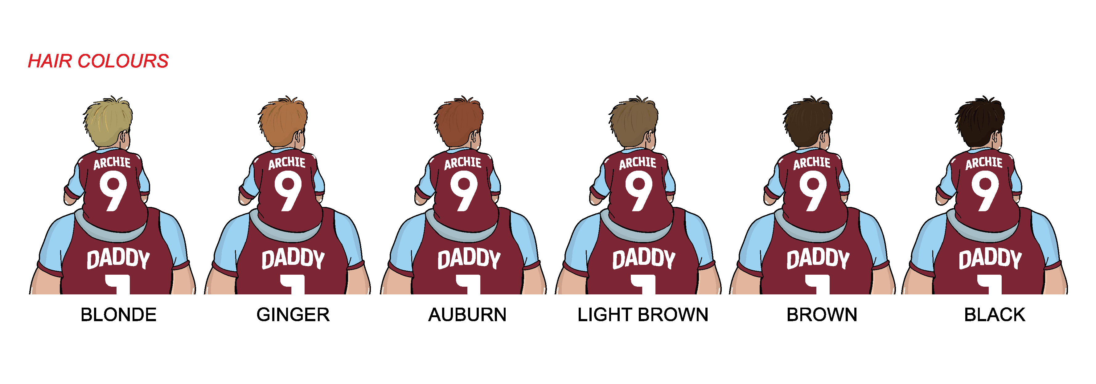 BURNLEY Dad and lad