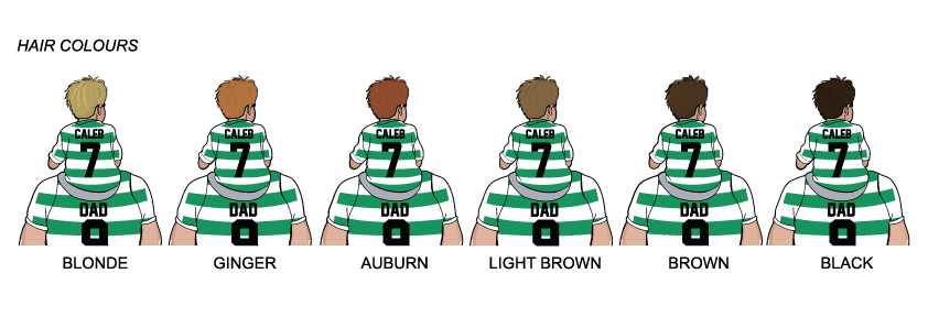 Celtic Dad and lad