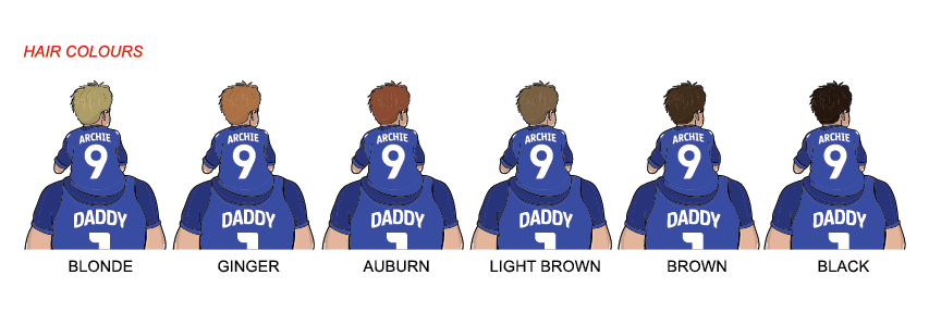 CHELSEA Dad and lad