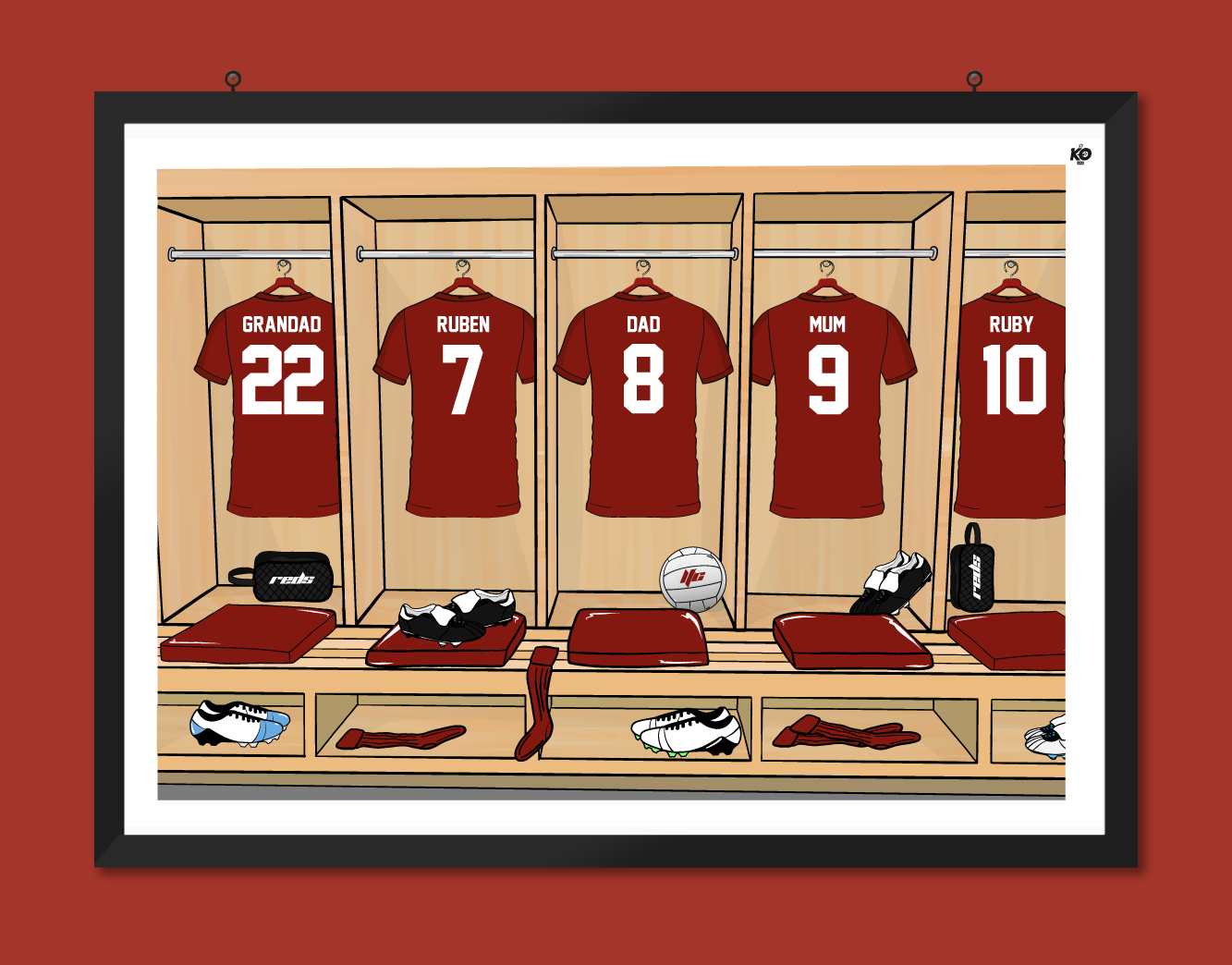 LIVERPOOL LOCKER ROOM