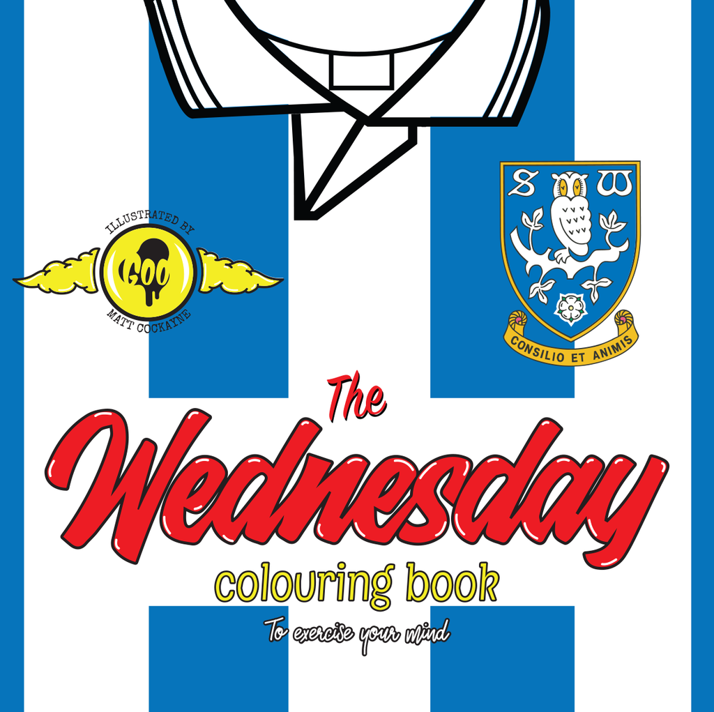 The Wednesday Colouring Book