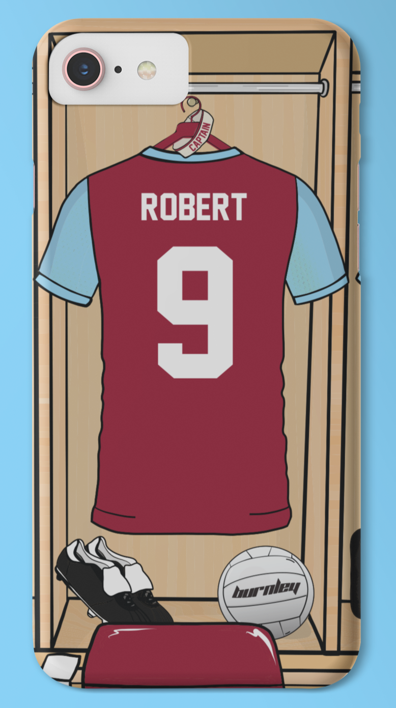 BURNLEY CAPTAIN PHONE CASE