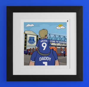 EVERTON Dad and lad