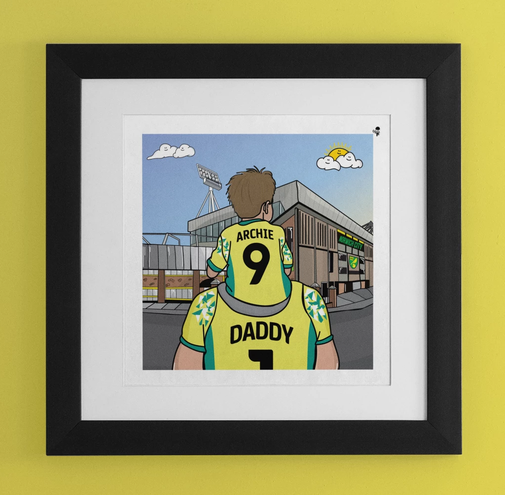 NORWICH CITY Dad and lad