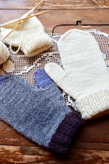 Learn to Knit a Mitten - 2 sessions