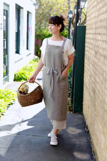 Comfy Full Apron Making