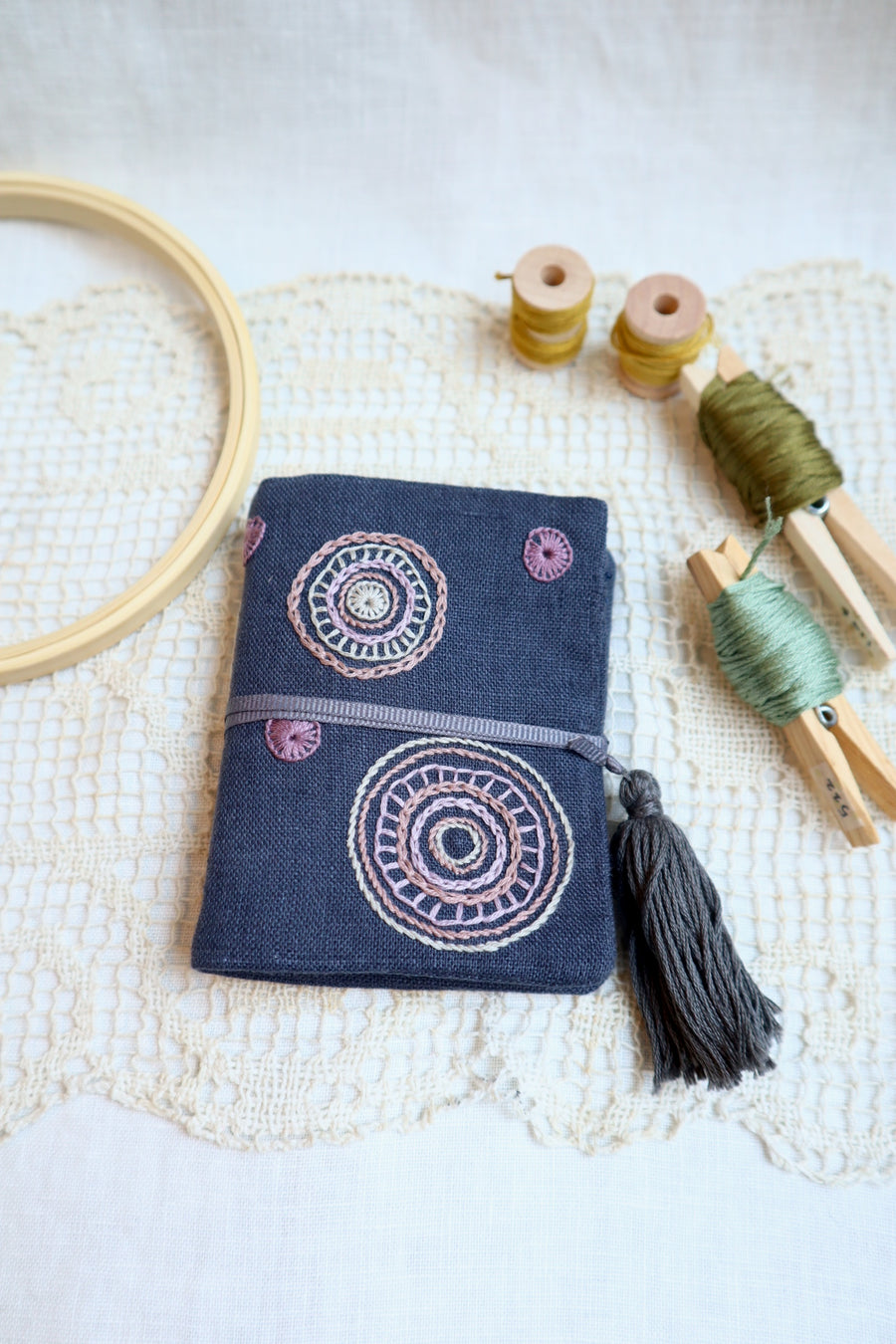 3/20 & 4/3 Fri Needle Book with a tassel