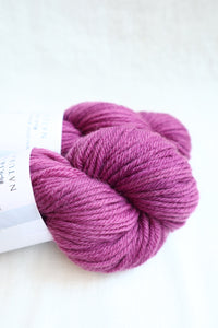 Naturally Dyed Yarn / Worsted / Cochineal