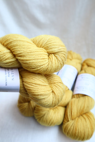 Naturally Dyed Yarn / Worsted / Osageorange
