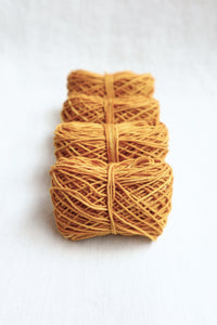 Sashiko Thread Thick Yellow