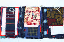 Load image into Gallery viewer, BORO Assorted Vintage/Antique Kimono Fabric Patches