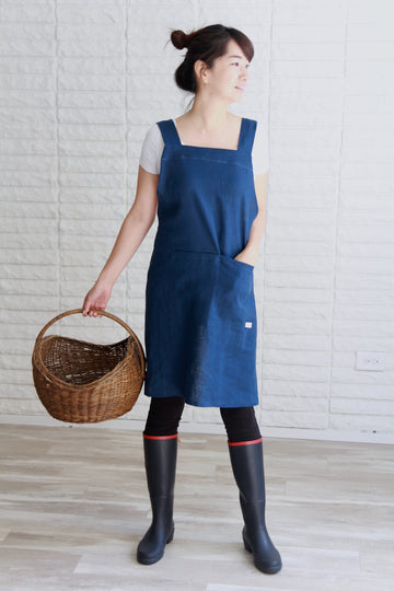 Comfy Cross Back Apron Making