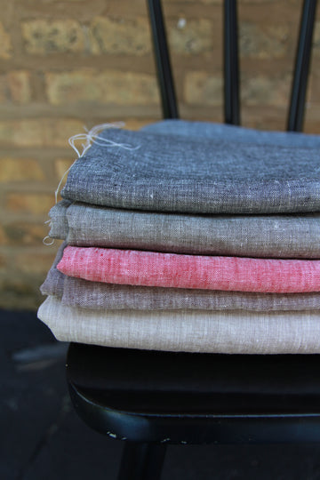 Chambray Yarn Dyed French Linen