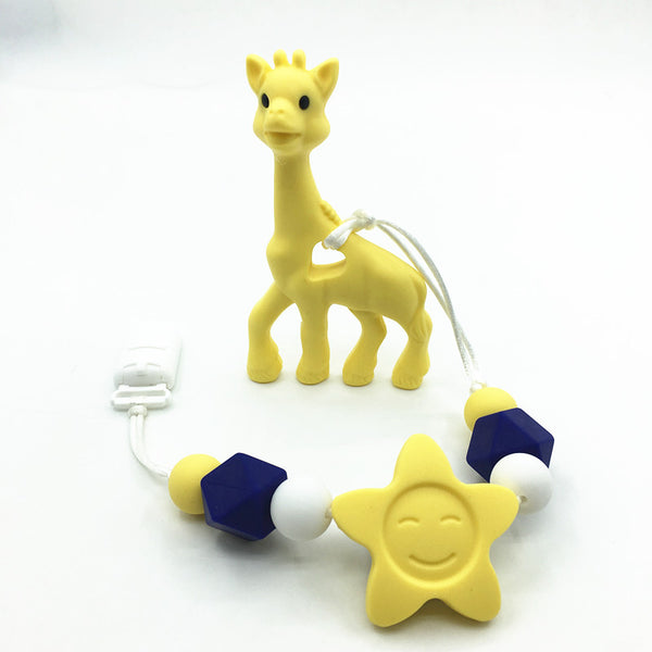 Giraffe Teeth Pacifier Toy