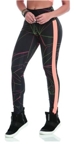 LEGGING NEON LIGHT DOUBLE PRINT