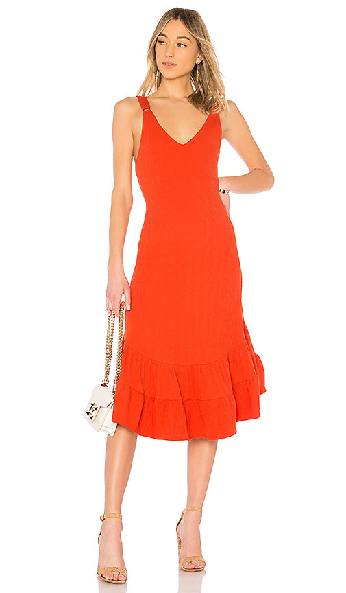 Into You Ribbed Maxi Dress