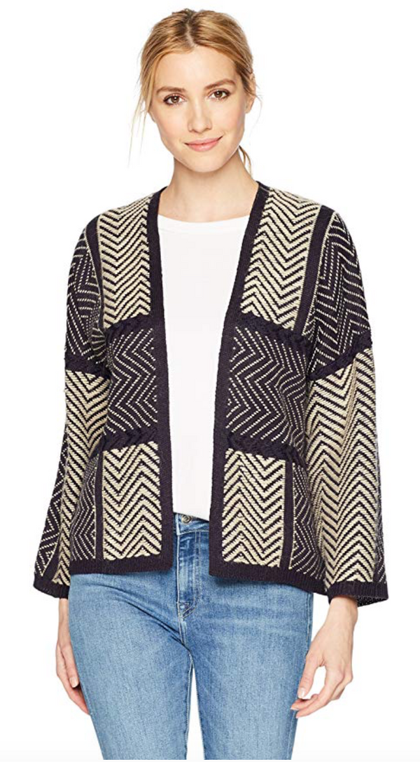Lucky Brand Women's Ziggy Cardigan Sweater