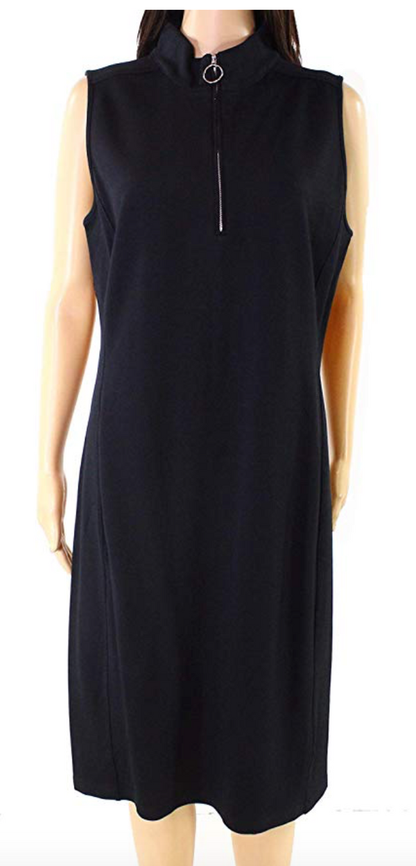 Lauren Ralph Lauren Pique Sleeveless Knee-Length Dress