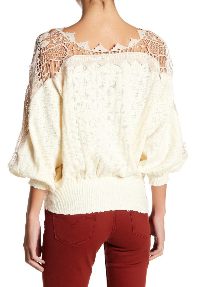 Love Lace Sweater