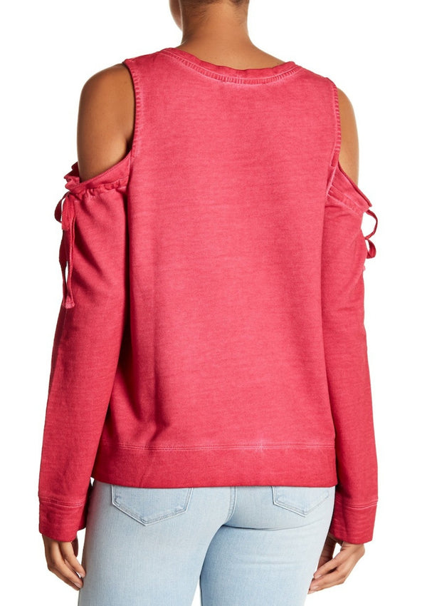 Parkside Cold Shoulder Sweater