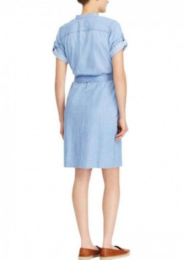 Denim Cotton Shirtdress