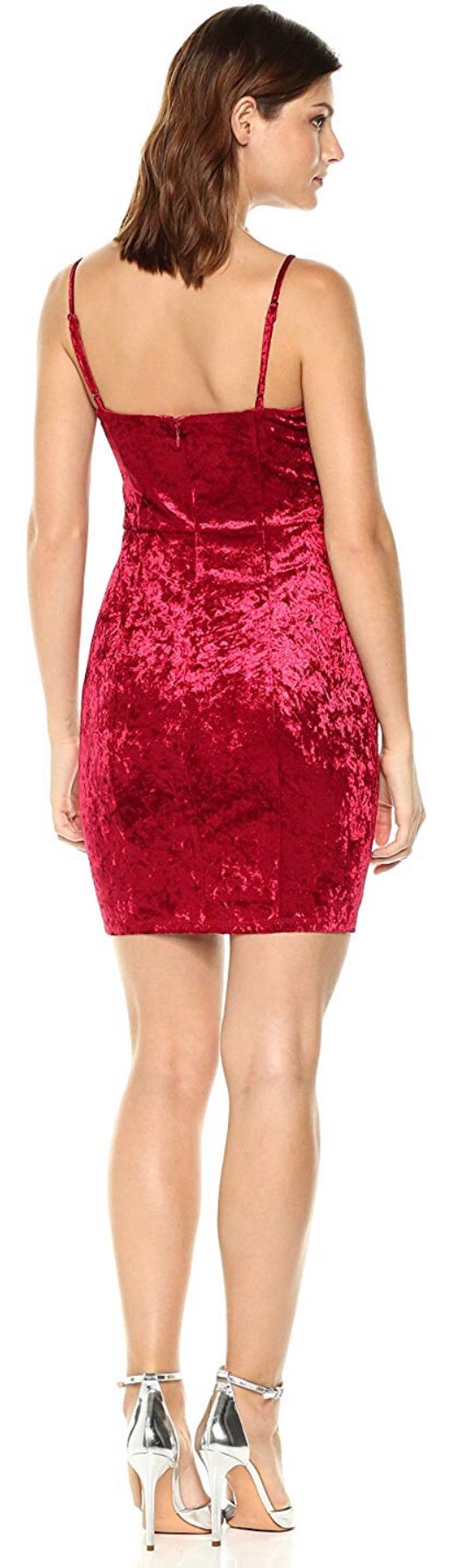 Women's Sleeveless Gennifer Velvet Dress