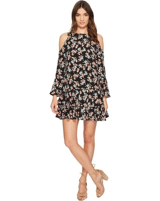 kensie Wild Roses Dress KS2K8190 (Black Combo) Women's Dress