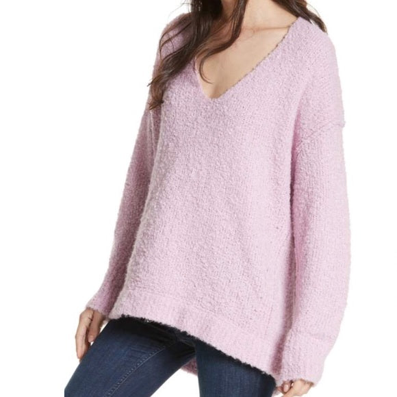 Lofty Bouclé-Knit Sweater
