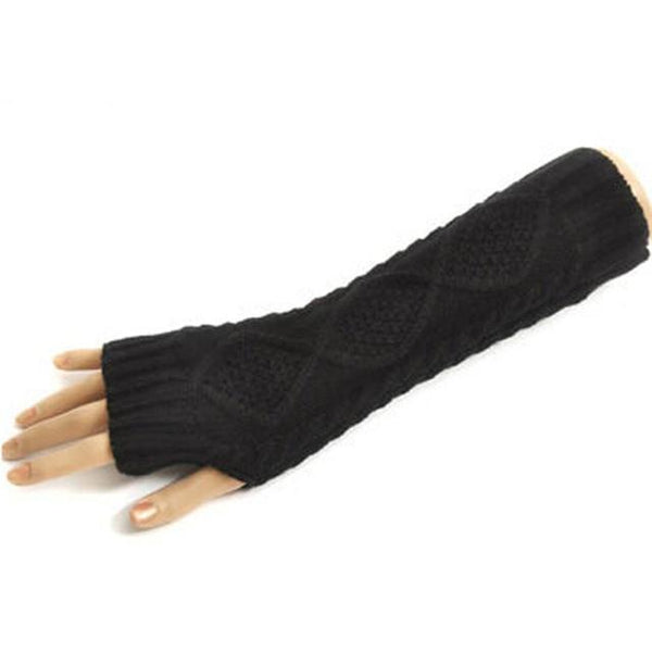 Solid Gloves Arm Warmer