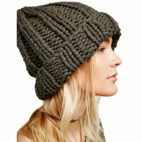 Wool Knitted Caps