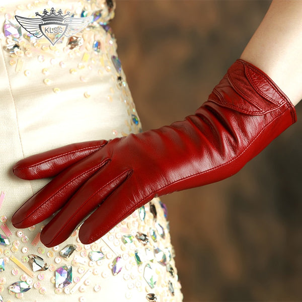Genuine Leather Women Gloves