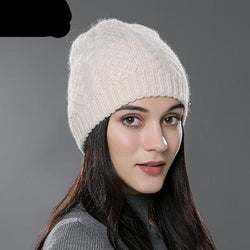 Knitted Wool Cotton Cap