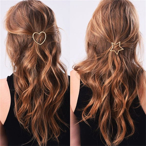 Metal Ponytail Holder Hair Clips