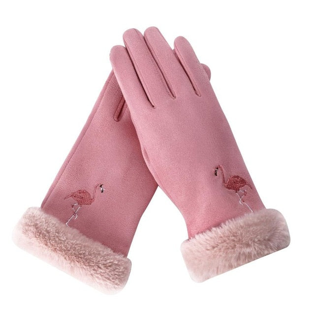 Outdoor Gloves Flamingo Touch Screen