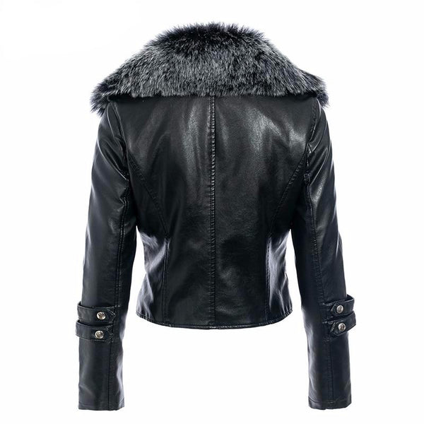 THICK LEATHER WOMEN JACKET
