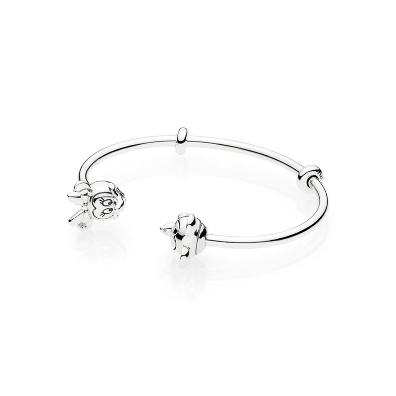 Mouse Open Bangle Bracelet