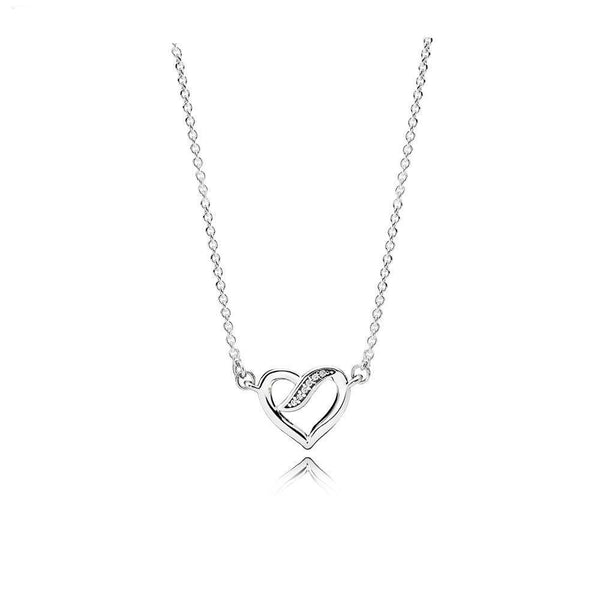 RIBBONS OF LOVE NECKLACE