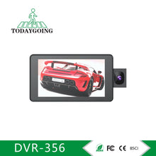 Load image into Gallery viewer, Three Lens Wide Angle 4.0inch Car Recorder Camera