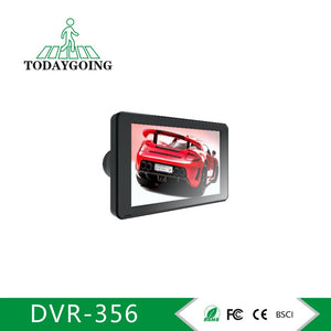 Three Lens Wide Angle 4.0inch Car Recorder Camera