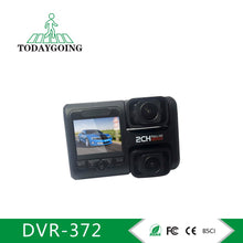 Load image into Gallery viewer, 2.0 Inch Dual 1080P Car Dashboard Camera,WIFI Car DVR Camera With GPS