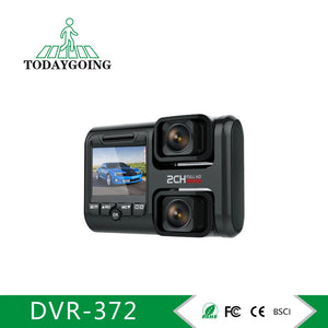 2.0 Inch Dual 1080P Car Dashboard Camera,WIFI Car DVR Camera With GPS