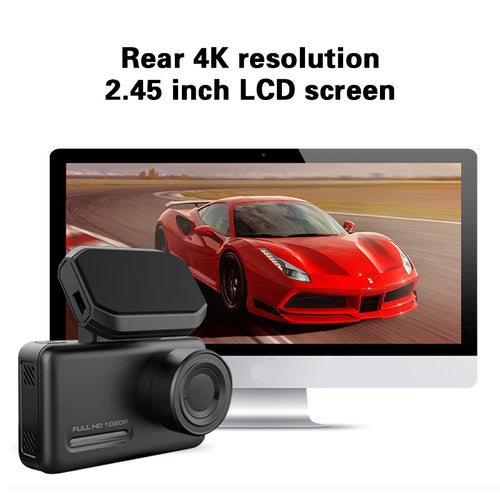 ForU 4K cam1  Dashcam with rear view 1080P