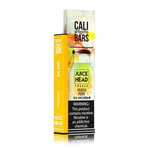Juice Head Freeze Cali Bar - Peach Pear