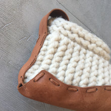 Load image into Gallery viewer, House Shoes - Organic Leather & Wool