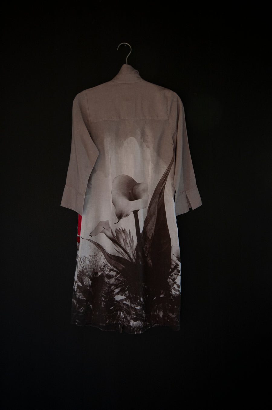 APPAREL | JENNY DRESS | GREY PROTEA PRINT