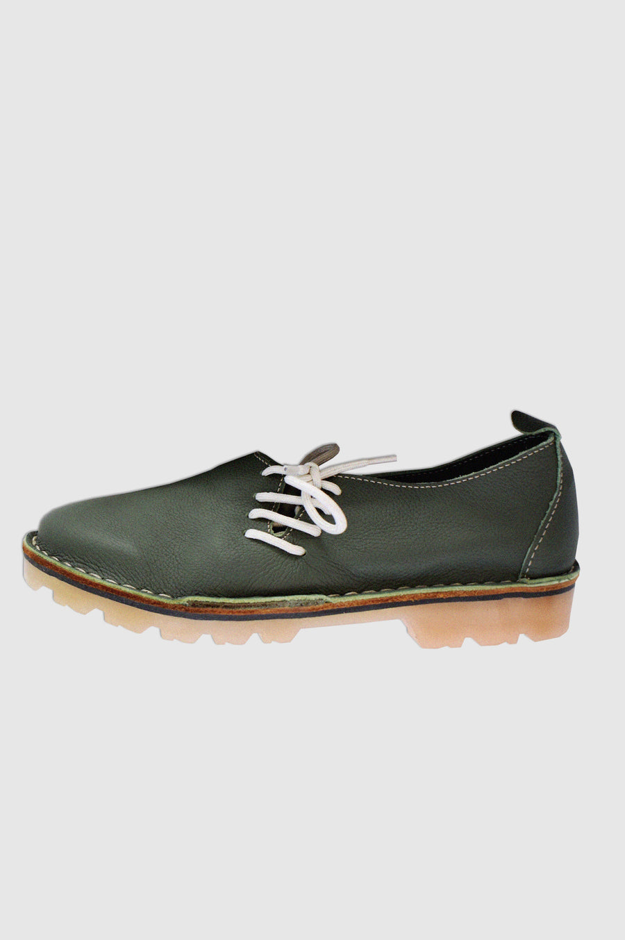 SHOES | LINDSAY SIDE VELLIES | SANTOS GREEN