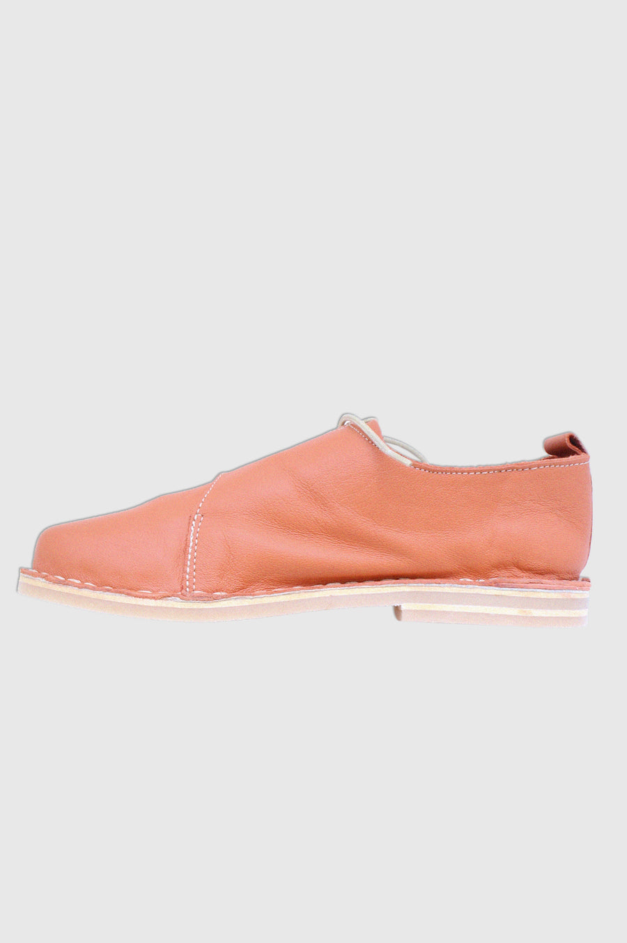 SHOES | SIDE TIE VELLIES | BURNT ORANGE