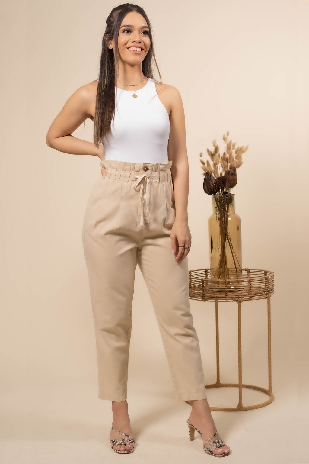 Keep it Breezy High Waisted Pants