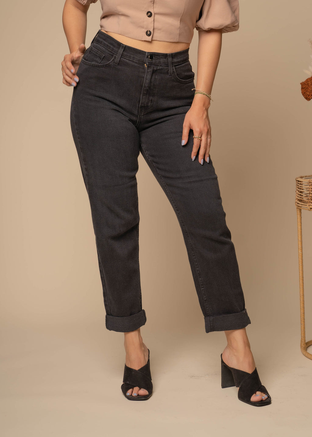 Loyalty Vintage Black Jeans