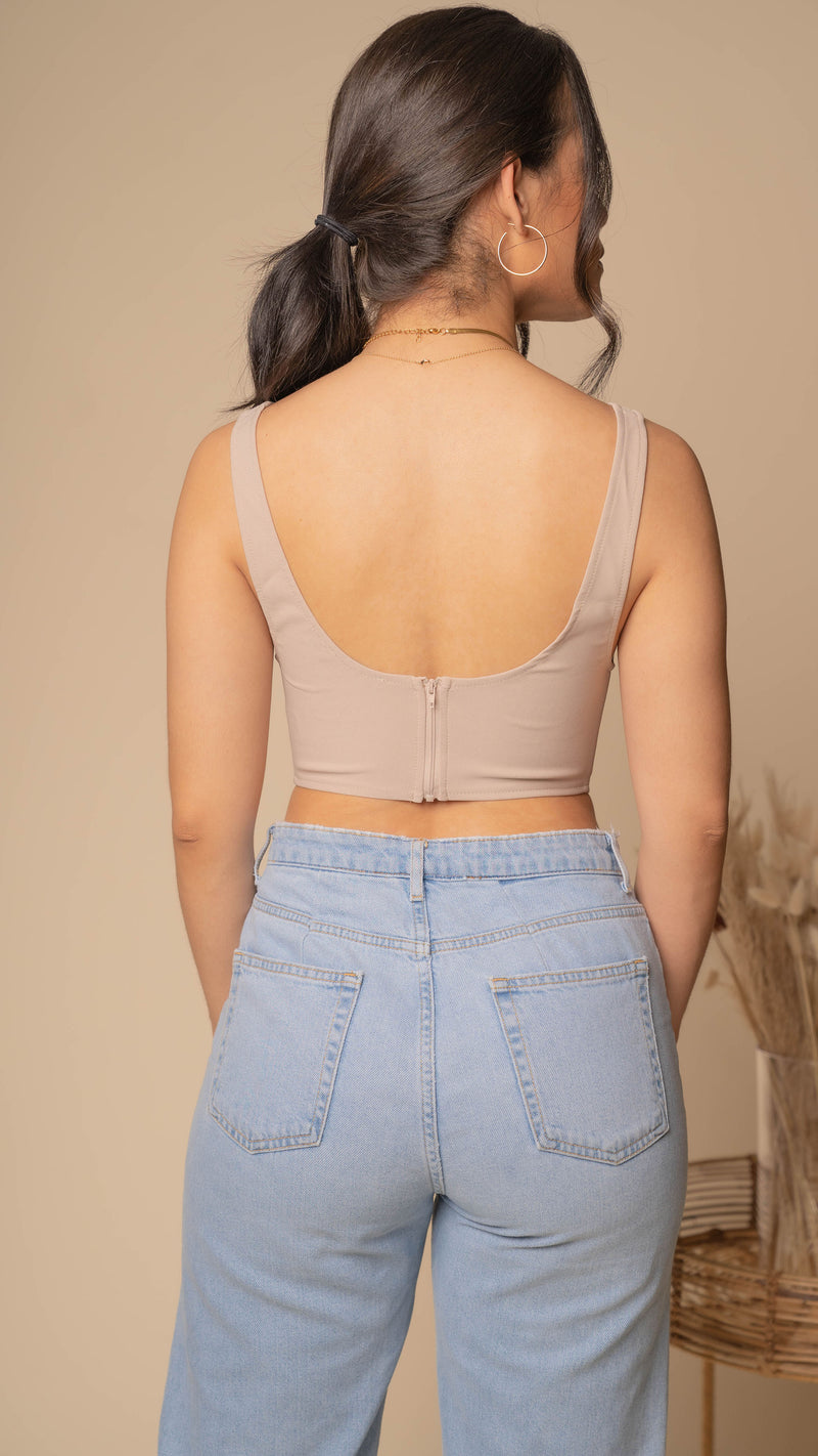 Eternity Corset Crop Top